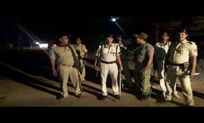सुपौल में दो गुटों में तनाव, गांव पुलिस छावनी में तब्दील