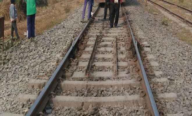 समस्तीपुर में टला रेल हादसा, मौके पर पहुंचे अधिकारी