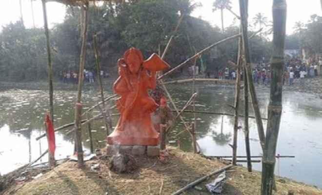 हनुमान मंदिर को लेकर दो पक्ष भिड़े