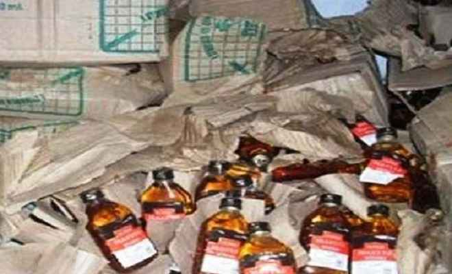 शराब माफिया ने घंटों मचाया आतंक
