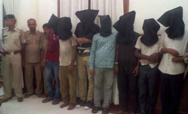 आंध्र प्रदेश के रेड्डी ने बिहार में बनाया ट्रक लूटेरा का अंतरराज्यीय गिरोह, मोतिहारी में 10 गिरफ्तार