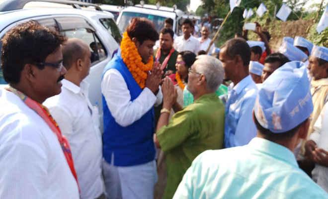 भागलपुर में निषाद विकास संघ के राष्ट्रीय अध्यक्ष का हुआ भव्य स्वागत
