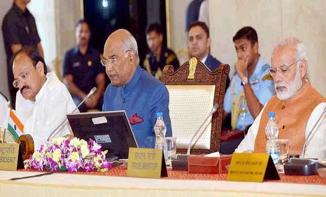 केन्द्र-राज्य के बीच तालमेल बनाने में राज्यपाल की भूमिका अहम  : राष्ट्रपति