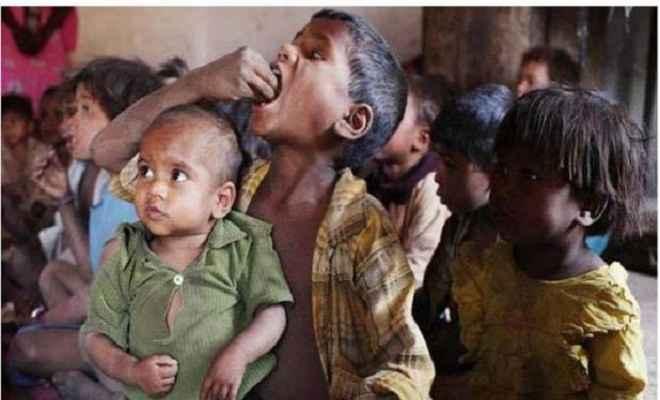 कुपोषण मामले में भारत उत्तर कोरिया से भी पीछे