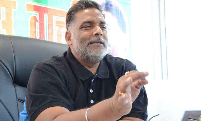 सत्ता में विलीन हो गयी मुख्यमंत्री की अंतरात्मा: पप्पू यादव
