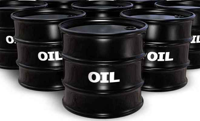 कच्चे तेल की अंतर्राष्ट्रीय कीमत 55.81 डॉलर/बैरल हुई