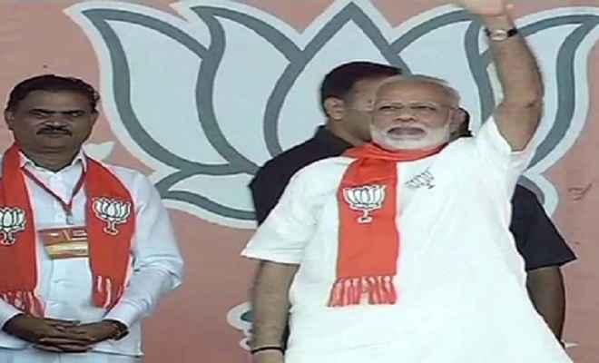 गौरव महासम्मेलन : गुजरातियों से 2/3 से नहीं बल्कि 3/4 के बहुमत से जीत मांगी मोदी और शाह ने
