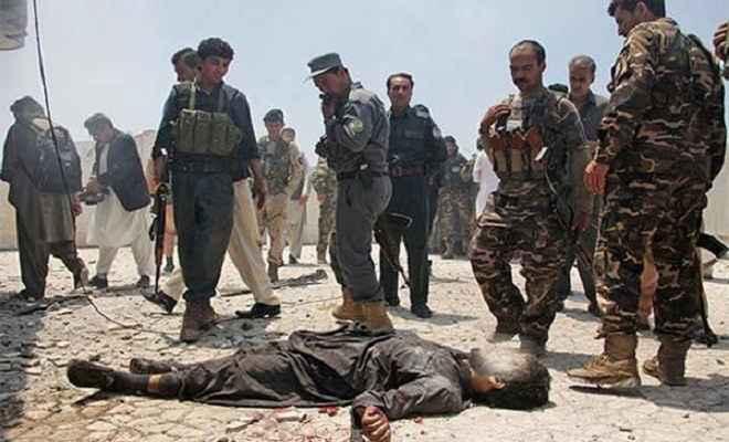अफगानिस्तान में आतंकी हमला, 15 मरे