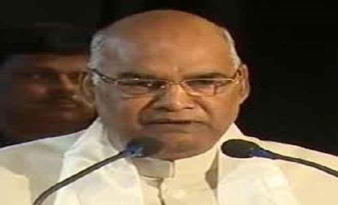 राष्ट्रपति रामनाथ कोविंद बिहार के कृषि रोड मैप की करेंगे लॉचिंग
