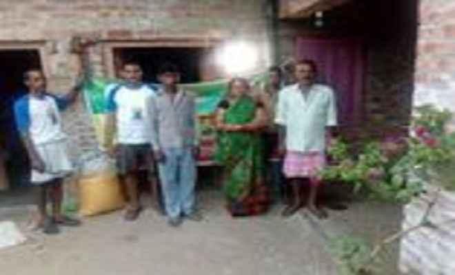 आजादी के 70 वर्षो बाद गांव रानीखेड़ा में पहुंची बिजली