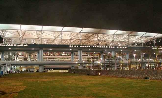 50 लाख से डेढ़ करोड़ यात्रियों की श्रेणी में हैदराबाद एयरपोर्ट पहला नंबर