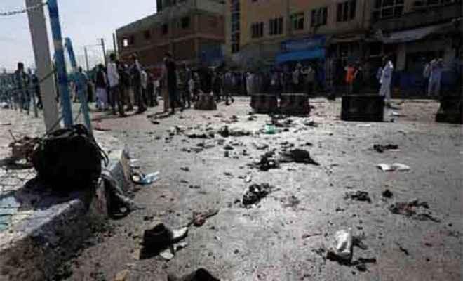 काबुल में आत्मघाती हमला, 60 लोगों की गई जान