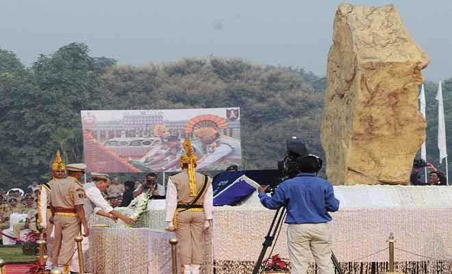 राजनाथ सिंह ने पुलिस स्मृति दिवस पर शहीदों को दी श्रद्धांजलि