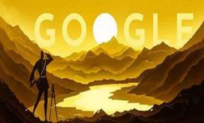 नैन सिंह रावत के 187वें जन्मदिन पर गूगल ने बनाया विशेष डूडल