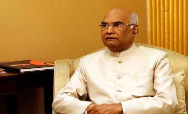 राष्ट्रपति रामनाथ कोविंद 9 नवम्बर को आयेंगे बिहार, तीसरे कृषि रोड मैप की करेंगे लॉचिंग