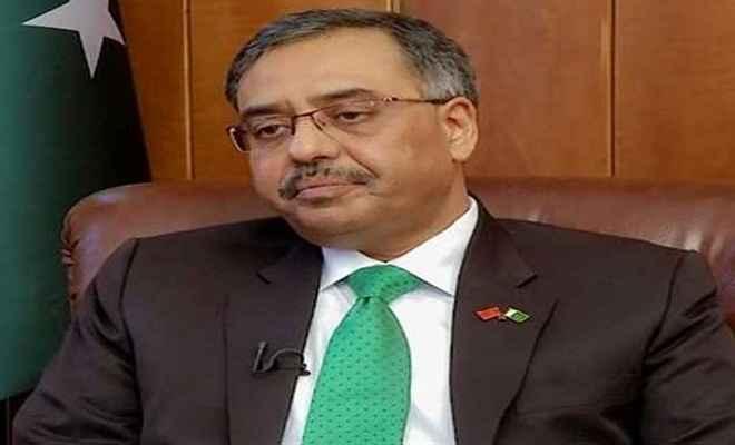 पाकिस्तान ने की अपने राजदूत की सुषमा से मुलाकात की पुष्टि