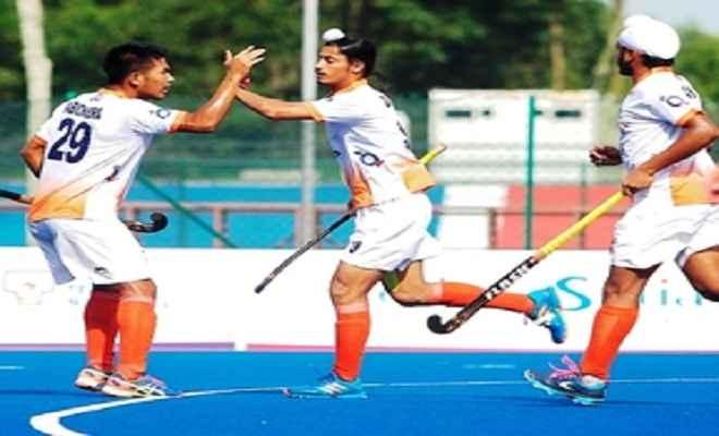 सुल्तान जोहोर कप हॉकी : भारत ने जापान को 3-2 से हराया