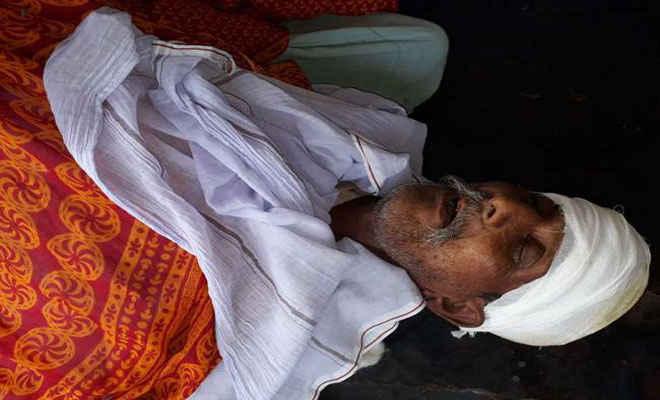 सीतामढ़ी में गोभी चोरी के आरोप में अधेड़ काे पीटकर मार डाला