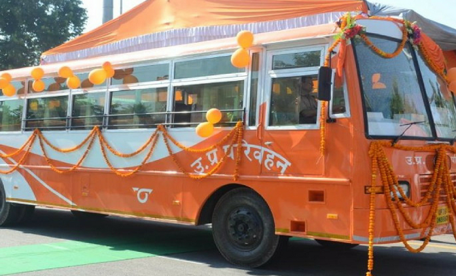 चारबाग बस अड्डे से छठ पूजा स्पेशल बसों का संचालन शुरू