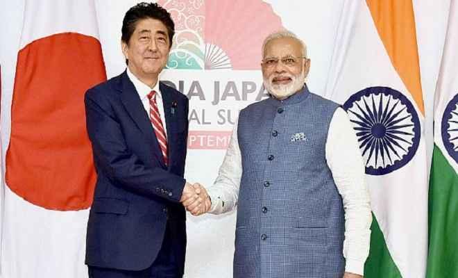 प्रधानमंत्री मोदी ने शिंजो आबे को चुनाव में बहुमत पाने पर दी बधाई