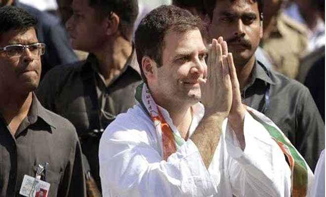 राहुल गांधी गुजरात के तीन दिवसीय दौरे पर पहुंचे