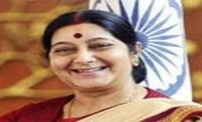 सुषमा स्वराज ने बांग्लादेश में नए चांसरी परिसर का उद्घाटन किया