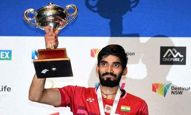 खेल जगत ने किदाम्बी श्रीकांत को दी बधाई