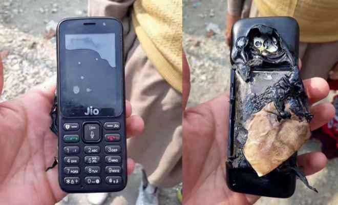 जियो फोन में ब्लास्ट की खबर, कंपनी ने कहा छवि खराब करने की साजिश