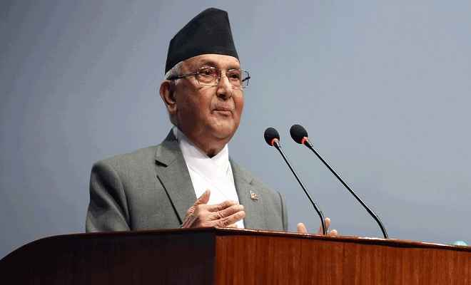 नेपाल में वामपंथी प्रत्याशियों की हत्या की रची जा रही साजिश : ओली