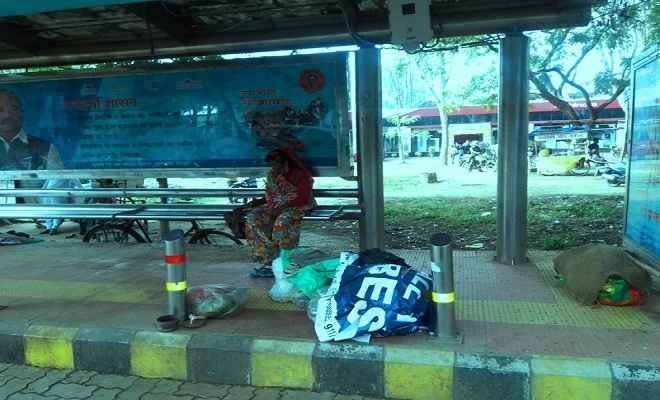 रांची में बेघरों पर आफत की बारिश
