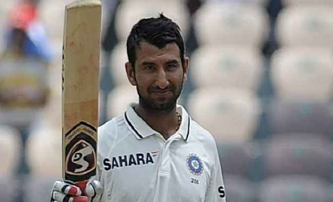 टेस्ट में पांच दिन बल्लेबाजी करने वाले तीसरे भारतीय बने पुजारा