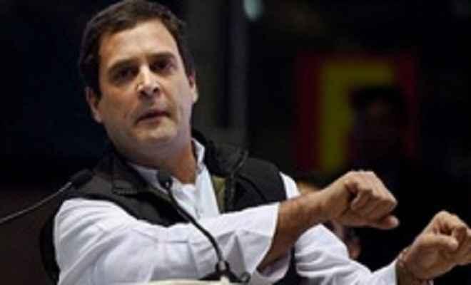 राहुल की कप्तानी मतलब कांग्रेस का सफाया  : सियाराम पांडेय 'शांत'