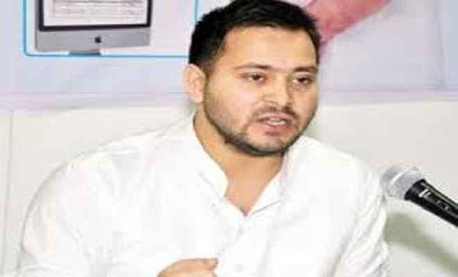 तेजस्वी यादव का आरोप, गुजरात में भाजपा की मदद में पटेल वोट बांटने के लिए जदयू लड़ेगा चुनाव