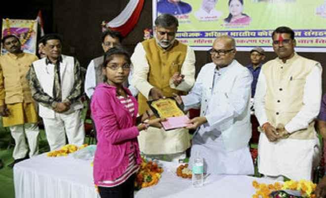 वीरांगना की मूर्ति बेटियों को देती है आगे बढऩे की प्रेरणा: वित्त मंत्री