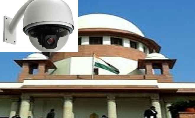 अदालतों में सीसीटीवी कैमरे लगाने के आदेश पर केंद्र राजी, सुप्रीम कोर्ट को सौंपी रिपोर्ट