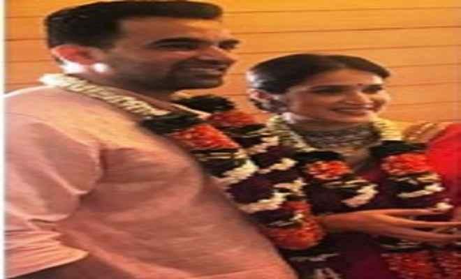 सागरिका घाटगे के साथ शादी के बंधन में बंधे जहीर खान