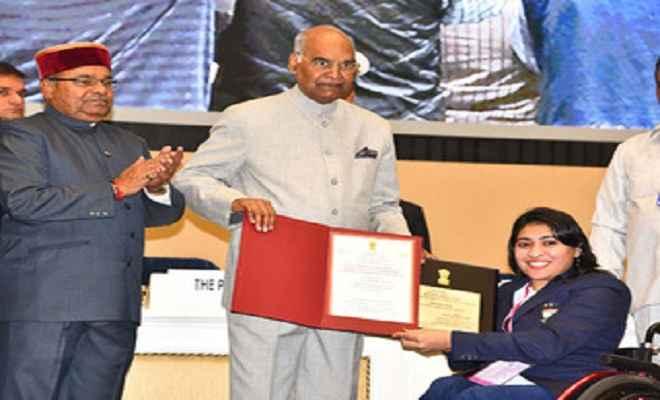 राष्ट्रपति ने 52 लोगों व संस्थानों को किया राष्ट्रीय दिव्यांग जन पुरस्कार से सम्मानित