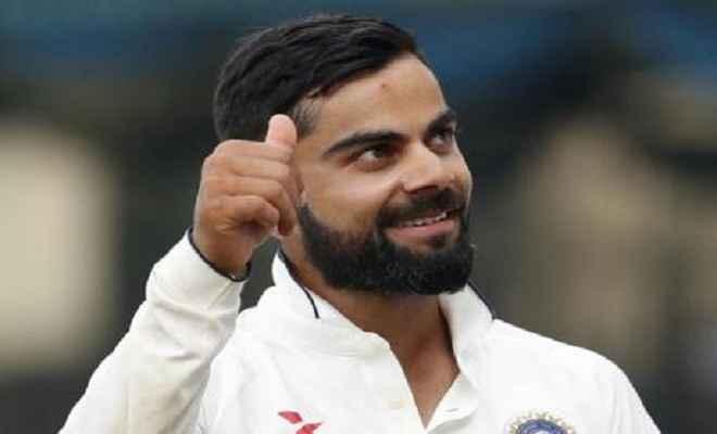 आईसीसी टेस्ट रैंकिंग में दूसरे स्थान पर पहुंचे कोहली