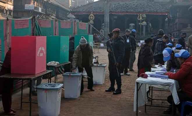 नेपाल में संसदीय और प्रांतीय चुनावों के लिए दूसरे चरण का मतदान जारी
