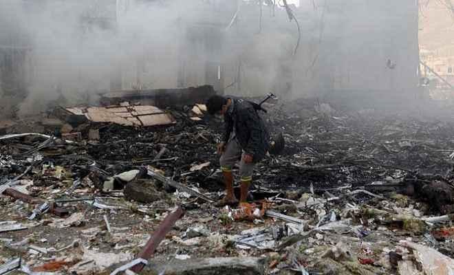 यमन में सउदी गठबंधन सेना के हमले में 6 मरे