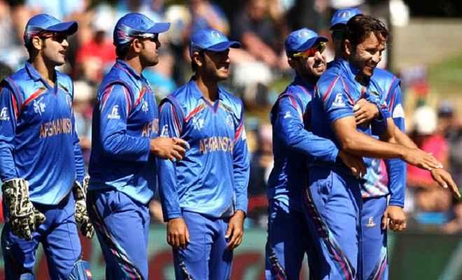 भारत के खिलाफ अपना पहला टेस्ट खेलेगा अफगानिस्तान