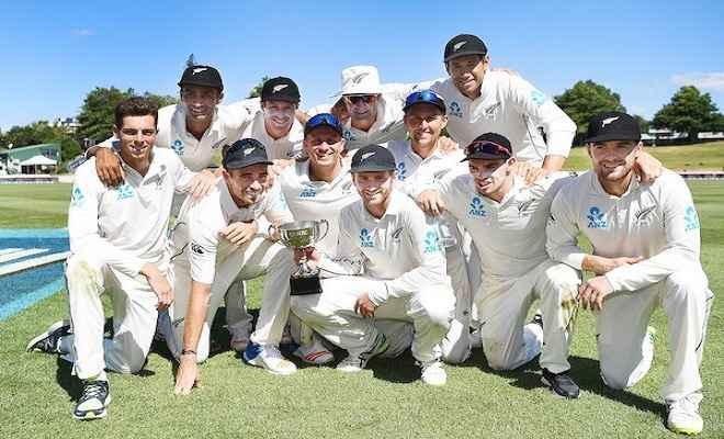 न्यूजीलैंड ने दूसरे टेस्ट में वेस्टइंडीज को 240 रनों से हराया, श्रृंखला 2-0 से जीती