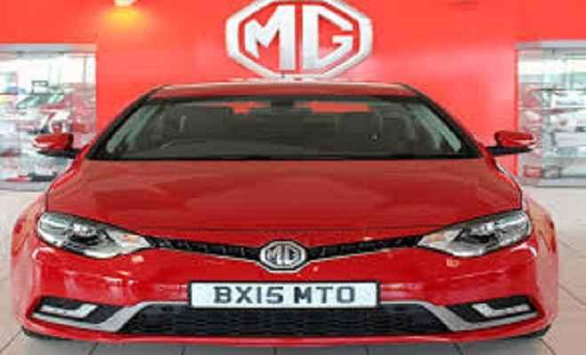 एमजी मोटर इण्डिया ने 5 स्टार्ट-अप्स को फ्रंट रनर्स के रूप में चुना