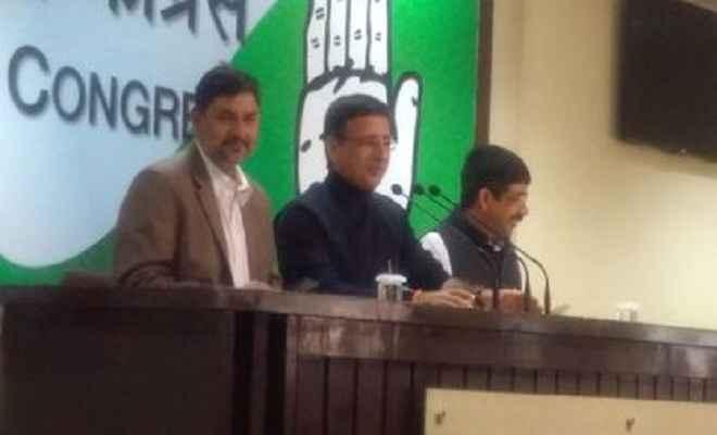 राहुल के इंटरव्यू पर सवाल उठाने वाले भाजपा नेताओं के खिलाफ कराएंगे मुकदमा: कांग्रेस
