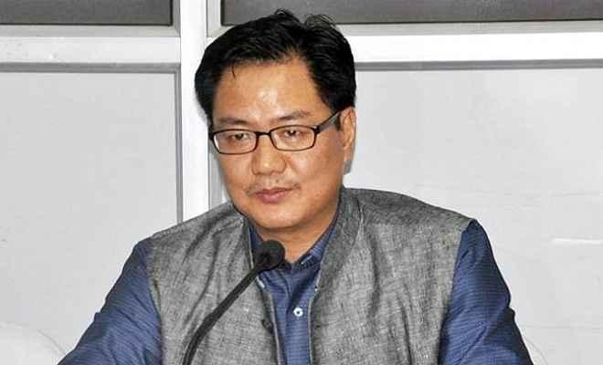 कांग्रेस चुनाव आयोग पर आरोप लगाती है तो मेरा खून खौलता है : किरण रिजिजू
