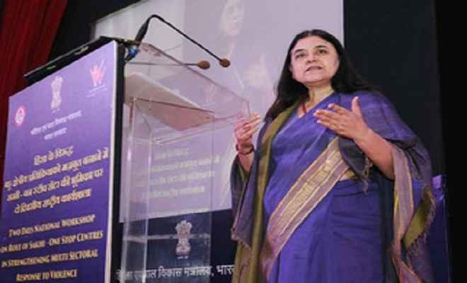 हिंसा प्रभावित महिलाओं की मददगार बनी 'सखी वन स्टॉप केन्द्र' योजना: मेनका गांधी
