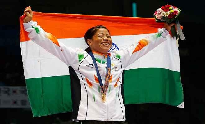 राज्य सभा ने मैरी कॉम, मीराबाई चानू, पुरूष और महिला हॉकी टीम को दी बधाई