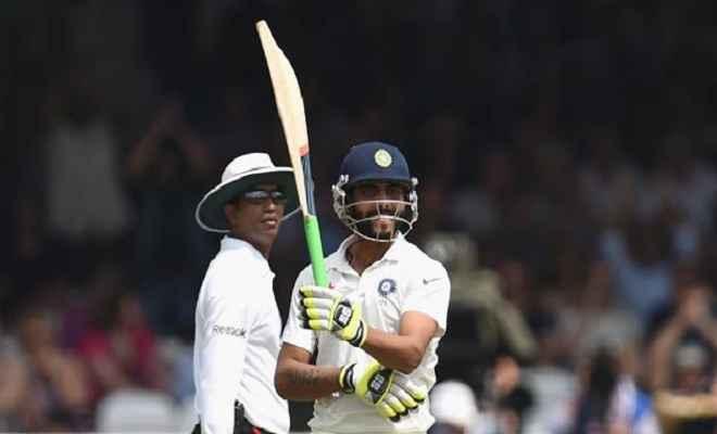 इंटर डिस्ट्रिक्ट टूर्नामेंट में जडेजा ने एक ओवर में लगाए 6 छक्के