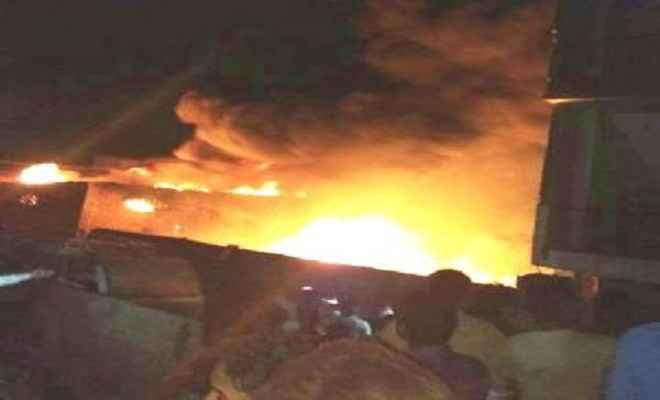 नेपाल में घरेलू गैस की फैक्ट्री में भयावह आग, दो लोग लापता और दो अग्निशमन कर्मी झुलसे