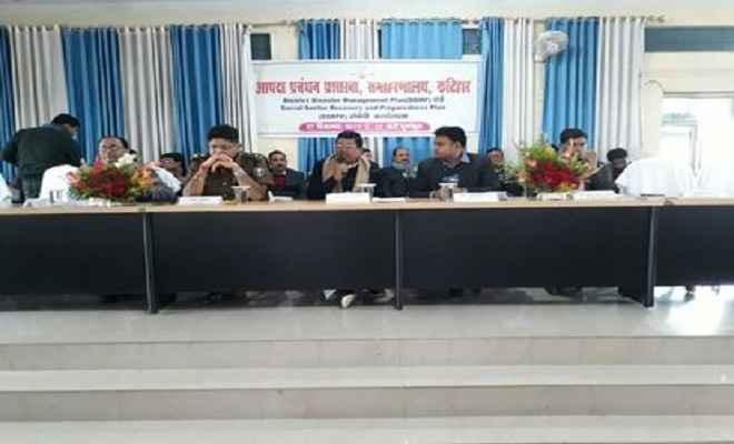आपदा के समय प्रभावित परिवारों की बेहतरी के लिए बिहार सरकार कृतसंकल्पित : दिनेश चंद्र यादव
